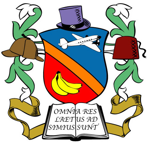 Mr Monkey's coat of arms